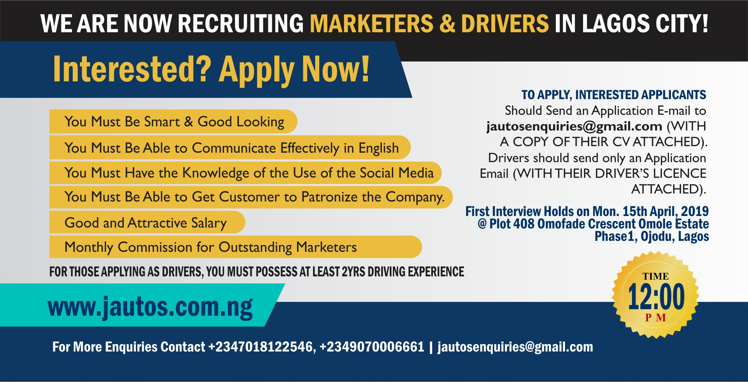 Job Recruitent Flyer1